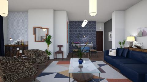 Vivianne - Living room - by The quiet designer