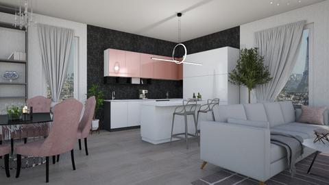 Pinky  - Kitchen - by mashusirjak