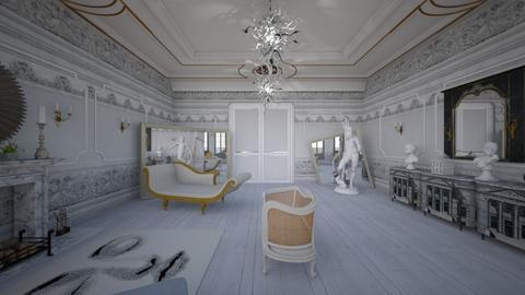 Paris Salon vu2 - Classic - Living room - by kitty