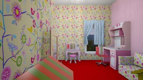Princess Catherine Room - Feminine - Kids room - by housekeeper17