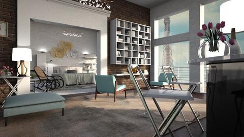 Light_Thonet - Living room - by ZuzanaDesign