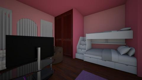 Chidhood Room with Twin - Kids room - by angel1031