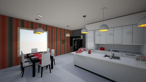 IP Artisan Kitchen - Kitchen - by calistaaa