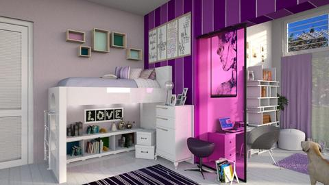 Teenager Bedroom - Bedroom - by bigmama14