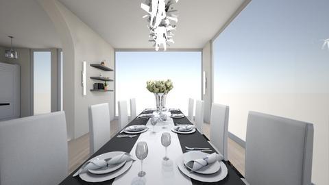 house d1 - Dining room - by nikolinajadanic