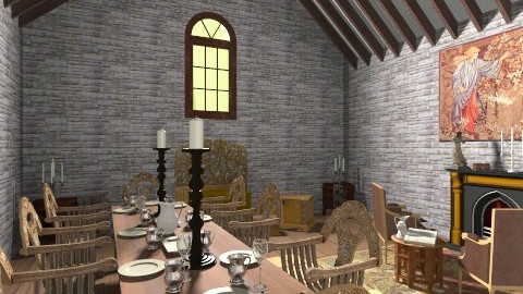 medival - Classic - Dining room - by itshollyhi