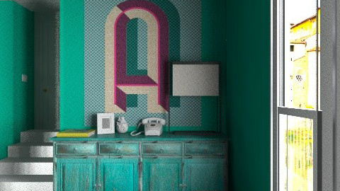 Green Hall In - Eclectic - by Maria Esteves de Oliveira