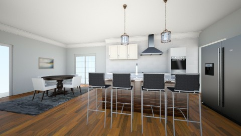 Kitchen - Glamour - Kitchen - by ryiredell