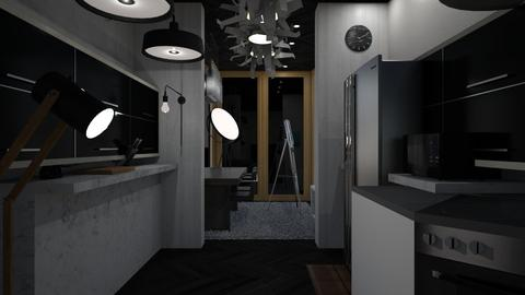 Paul_1 New Day - Modern - Kitchen - by RedPandaRooms