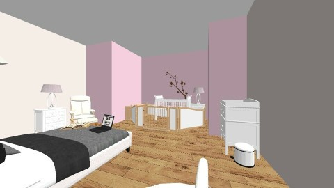 baby and parent  - Bedroom - by designerbabe11