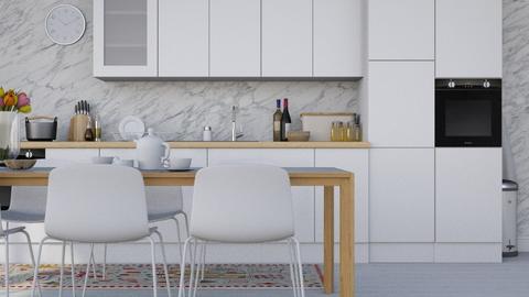 Kitchen Bianco - Modern - Kitchen - by HenkRetro1960