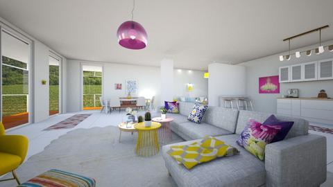 color splush  - Living room - by chaimae saidoun