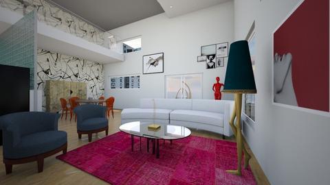 retrostudio - Retro - Living room - by Jacqueline De la Guia