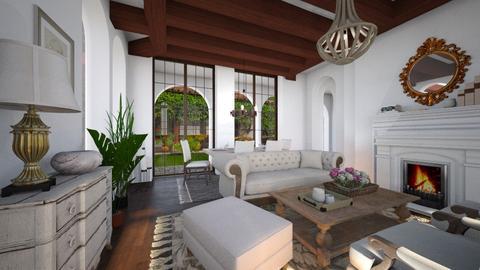 Santa Barbara - Living room - by RonRon