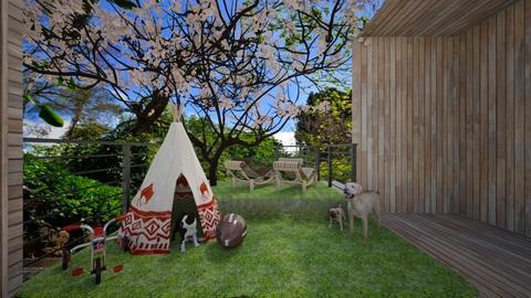 Casa152Garden - Classic - Garden - by nickynunes