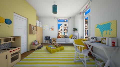 Apt  kids room - Kids room - by martinabb