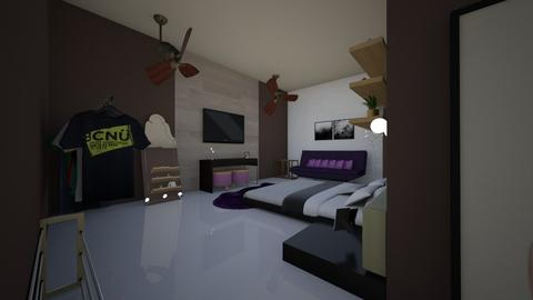 Modern Bedroom - Modern - Bedroom - by ReesesPieces203