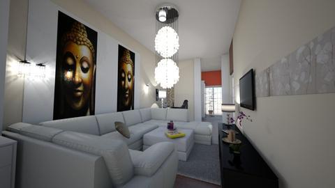 uj nappali 1 - Modern - Living room - by emi lengyel