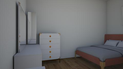 L shaped bedroom - Bedroom - by Siraademented1309