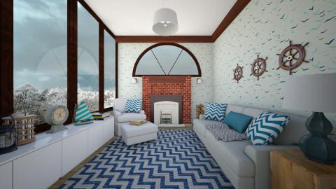 sea room - Country - Living room - by nuray kalkan