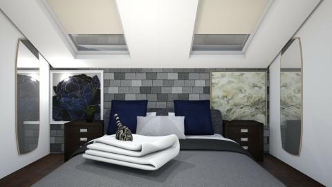 Sleeping Nook - Bedroom - by serafinn