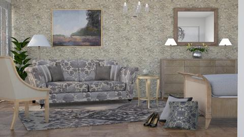 M_ Floral - Bedroom - by milyca8