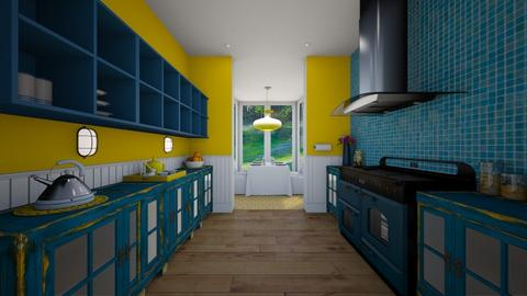 Paul_1A - Eclectic - Kitchen - by donella