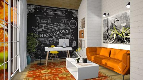 Autumn - Office - by lydiairenefritz