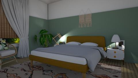Bedroom - Minimal - Bedroom - by Annathea