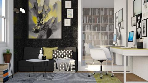lvn ofc - Living room - by its_eima