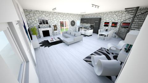 open plan 4 - Modern - Living room - by bec21