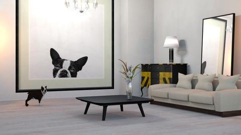 Little_Big_Dog - Living room - by ZuzanaDesign