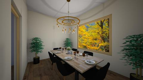 dining room - Dining room - by avawrightthewrightone