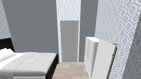 Modern Teens Bedroom 2 - Modern - Bedroom - by krazai