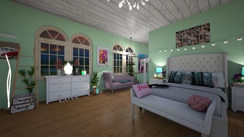 cuarto adolescente 2 - Bedroom - by savanha  reik