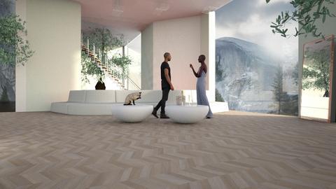 Haring Oak - Living room - by ZuzanaDesign