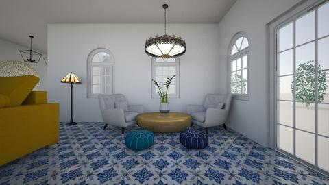 North East Corner - Living room - by Orange Blossom Interiors