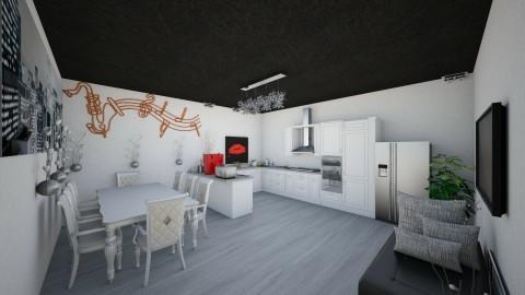 MariaNamjoon3 - Modern - Kitchen - by Maria_Kim