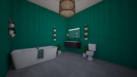 Urban Jungle contest room - Bathroom - by slm4278