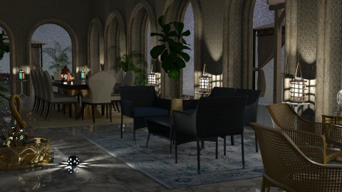 Jaya Nights3Panoroma  - Classic - Living room - by anchajaya