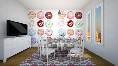 donuts - Modern - Dining room - by blingirl