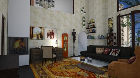 Apartment - Living room - by colorful_eye