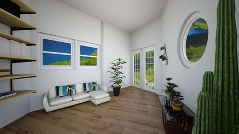 Modern 1 - Living room - by Anna Weyer