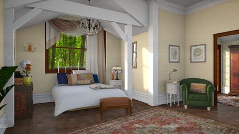 bedroom 2 - Bedroom - by clairelist07