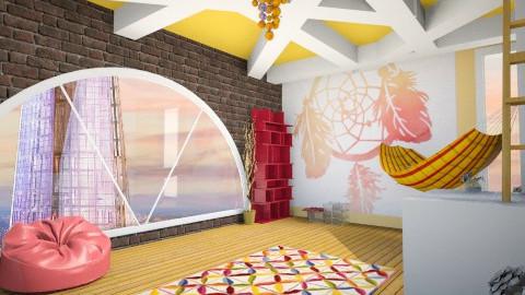 Tangerine Dream  - Kids room - by jlively