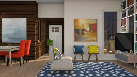 Warm Welcome - Modern - Living room - by Gurns