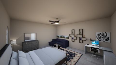 dereki - Bedroom - by ambervillegas