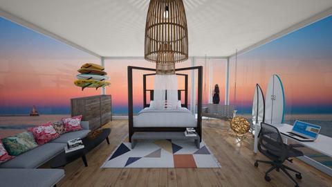 surf - Bedroom - by leoleolion