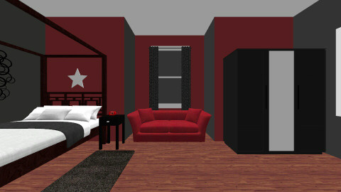 style star - Bedroom - by samibrown