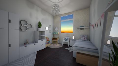 SK Girls room - Kids room - by Sherrykooznits